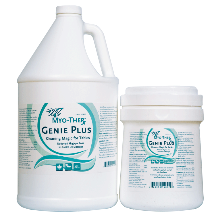 Myo-Ther Genie Plus Cleaner.