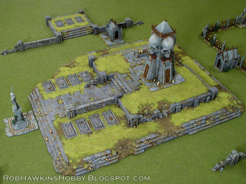 Rob Hawkins Hobby: Terrain Tutorial: Graveyard Hills