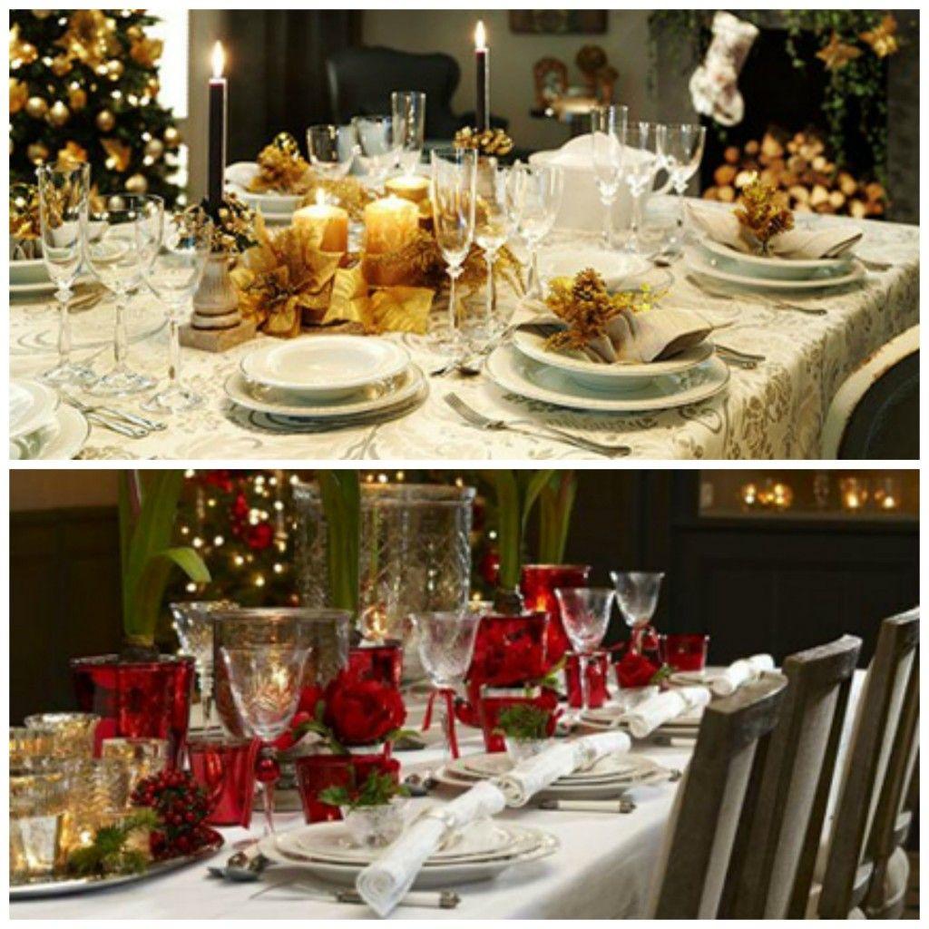 mesas de navidad de estilo cl sico navidad decoraci n