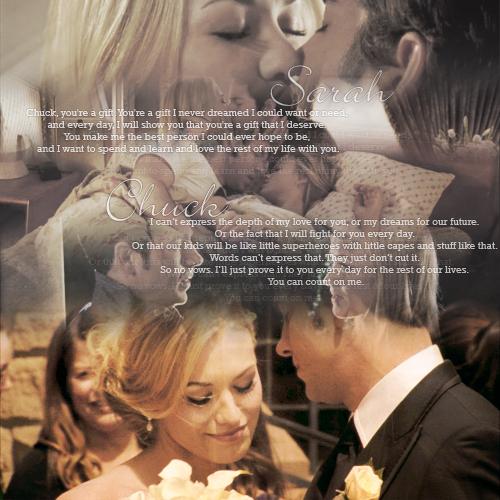 Chuck Sarahs Wedding Vows