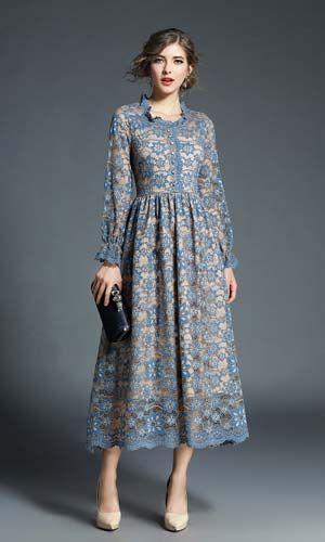 Bayan Dantel Elbise Harika Tasarim Modeli Her Cesit Organizasyonda Kullanabileceginiz Muhtesem Abiye Elbise Modeli Elbiseler Dantel Elbiseler Dantel Elbise