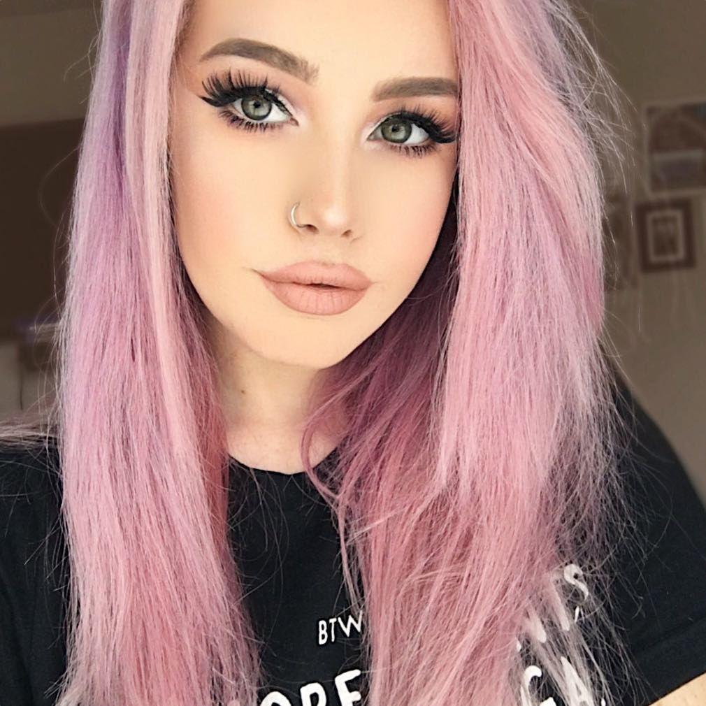 Light Pink Hair Color Spefashion