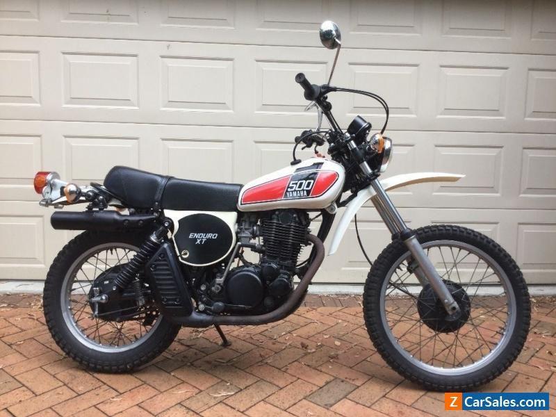 1976 Yamaha Xt500c Yamaha Xt500 Forsale Australia Cool Bikes Motorcycles For Sale Yamaha