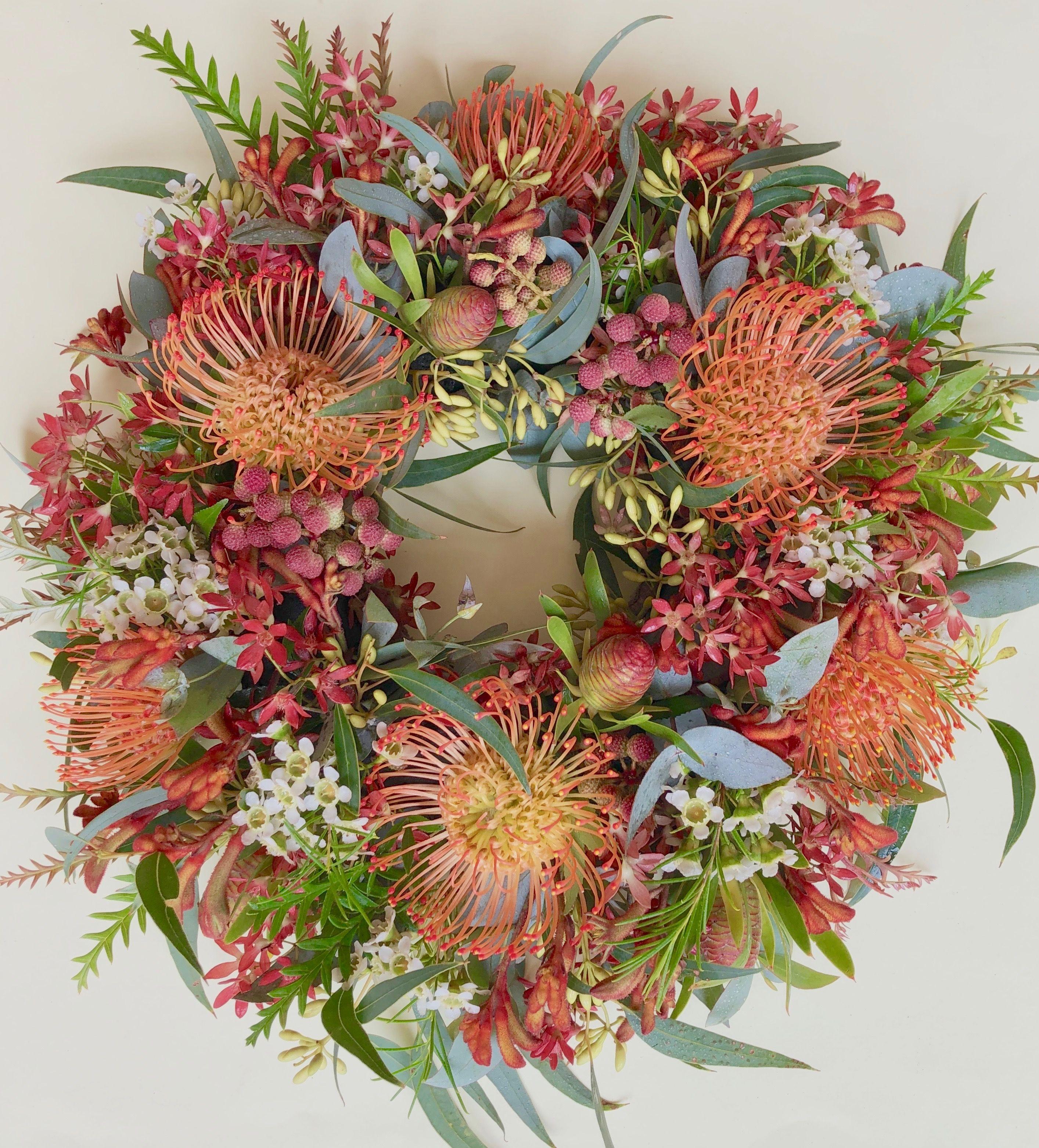 Christmas Wreath by Native Bunch Pincushions, Christmas