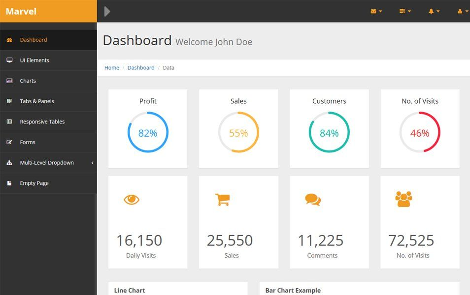 110 Top Best Free Bootstrap Admin Templates 2019 Templates Free Dashboard Templates Dashboard Bootstrap