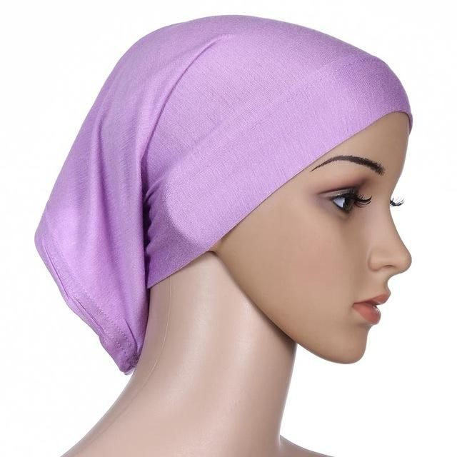muslim hijab short islamic hijab islamic abaya dubai kaftan wholesale turkish women tube inner cap wl3432 1