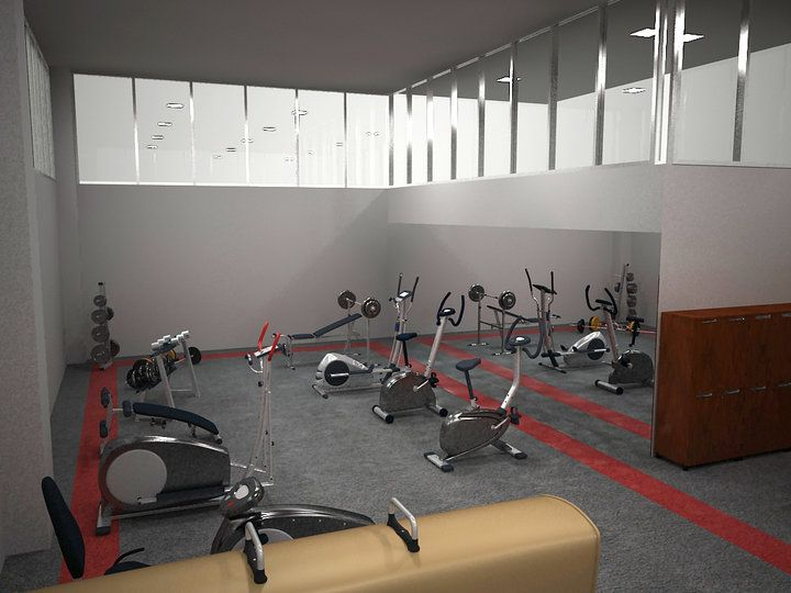 Fitness room pertamina workout rooms fitness room