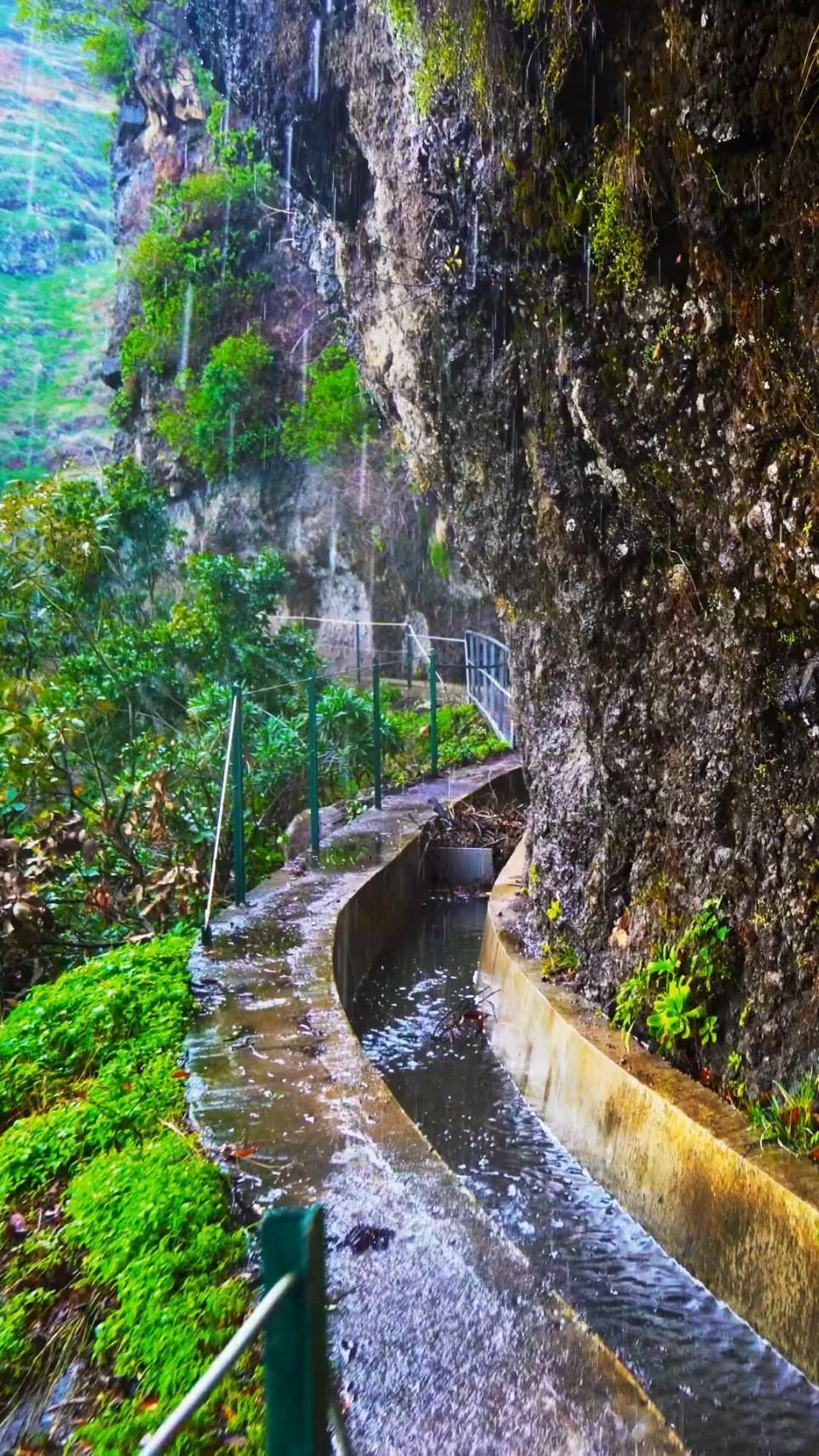 Lavada Do Moinho   Portugal, Madeira. Lavada Do Moinho – Dangerous trail but very exciting.