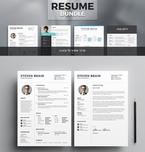Resume CV Template collections Finance Pinterest Cv template - collections resume