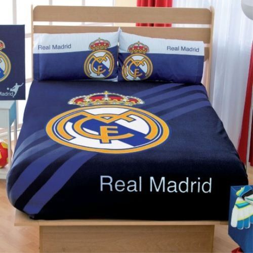 Football Real Madrid Fleece Blanket, Sheets and Curtains Set (Full)   Football Real Madrid Fleece Blanket, Sheets and Curtains Set (Full) Are you looking for ways to give a WOW factor to your kid's room? Then we are pleased to introduce this great quality and fabulous product to you.This can be used as a way of brightening up the appearance of your kid's room and this will certainly add a spark, a touch of style and fun! So go ahead and decorate your kid's room.     Set includes:  1 ..