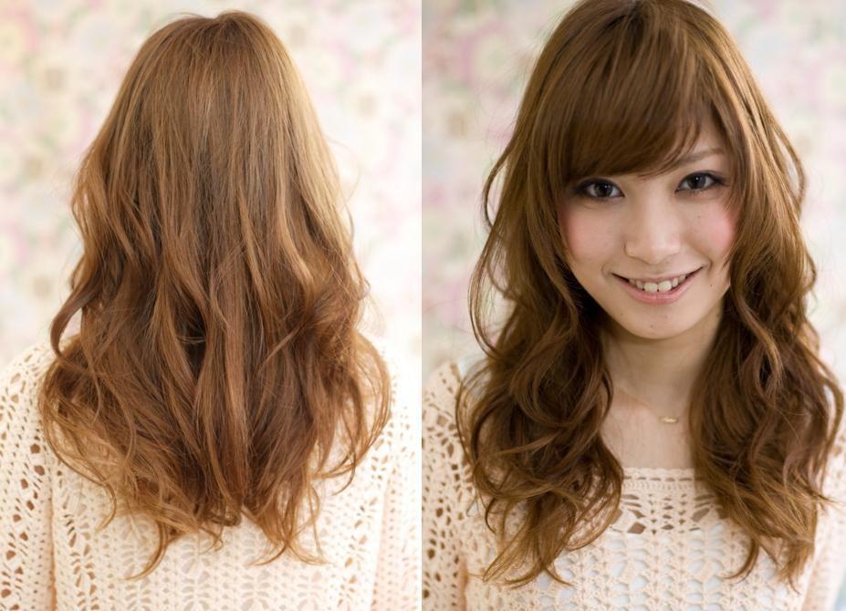 Pretty Filipinas Digital Perm Photos Medium Length Hair Styles Hair Lengths Permed Hairstyles