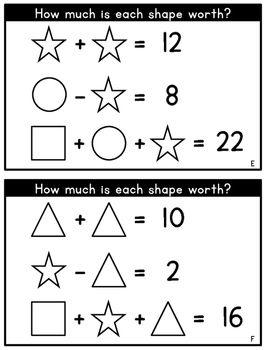 Math Logic Puzzles Set 1 1st 2nd Grade Math Enrichment Math Logic Puzzles Maths Puzzles Third Grade Math Puzzles