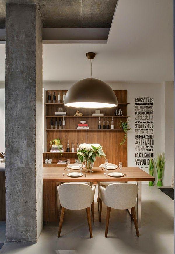 Juego de volúmenes de hormigón en un loft rehabilitado | Inside ...