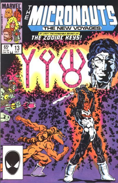 Micronauts: The New Voyages # 13 by Kelley Jones