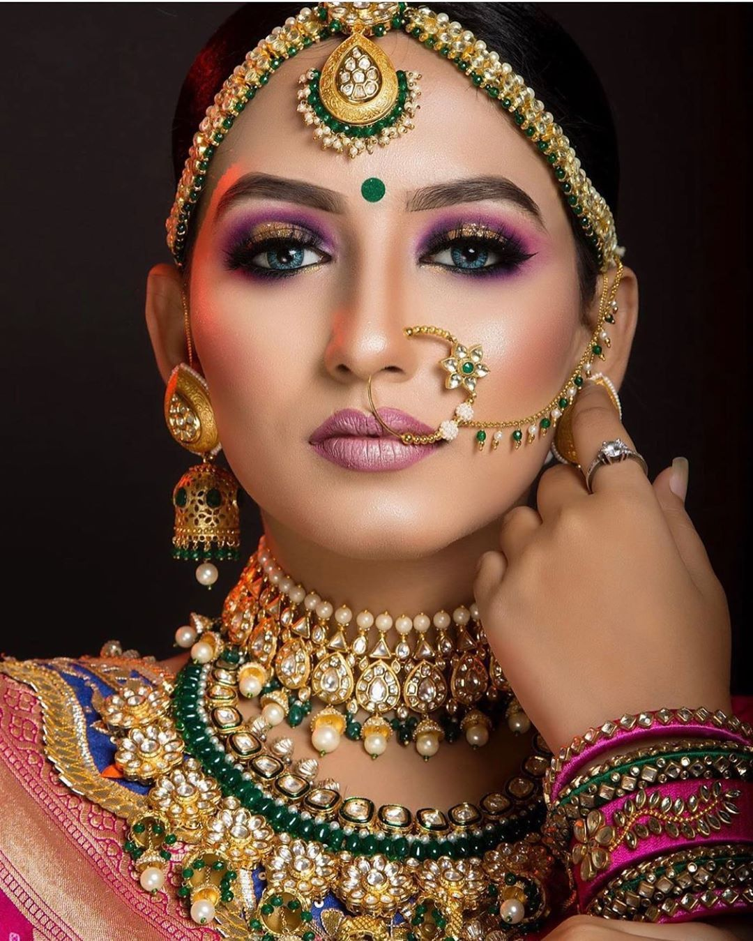 Pin by Rinku Singh on Bridal makeup in 2020 Indian