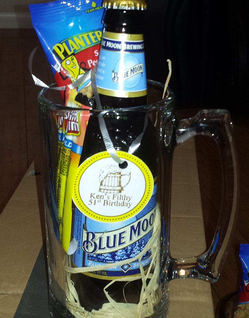 Beer Mug gift idea Party favors for adults, Beer party