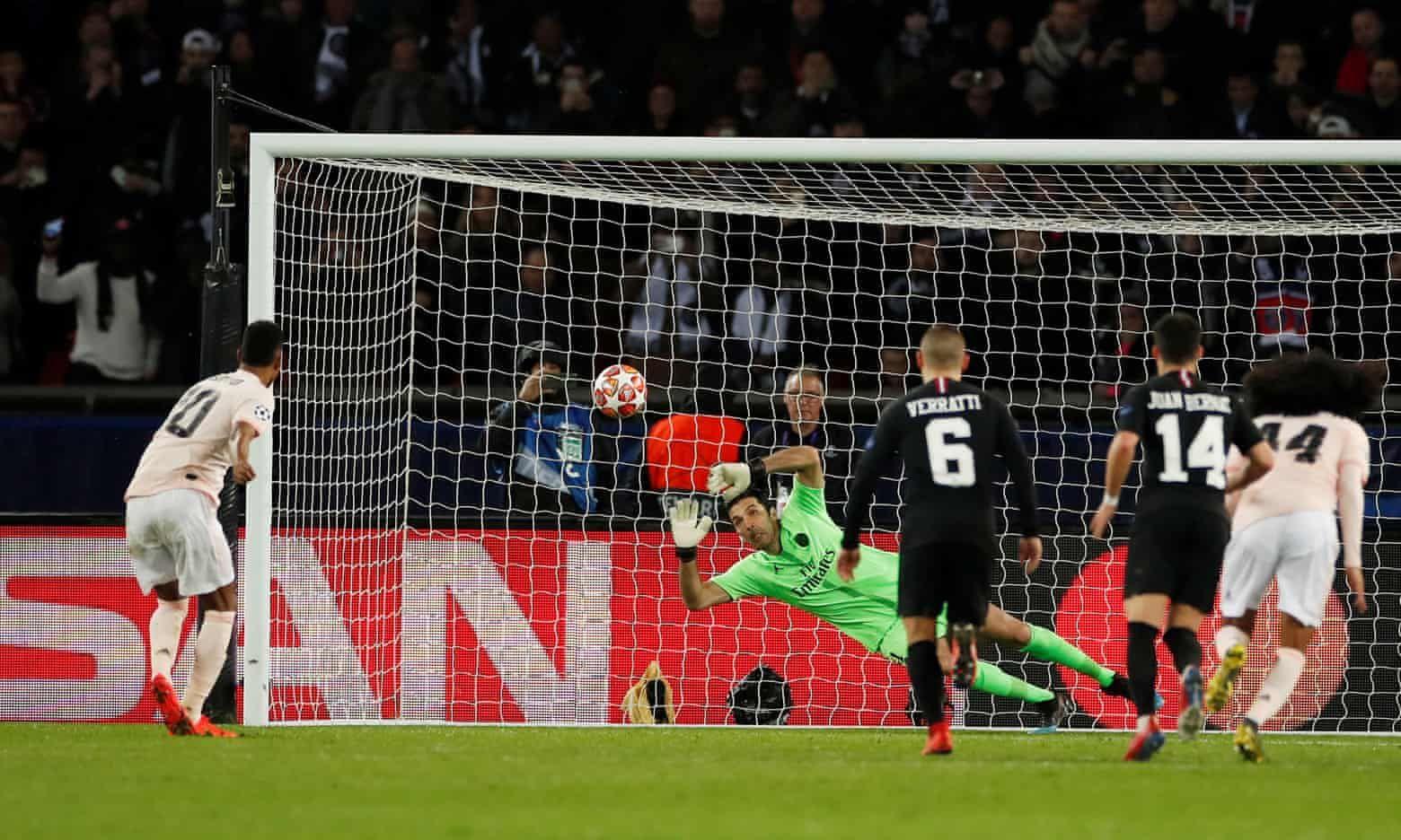 Paris SaintGermain 13 Manchester United (33 agg