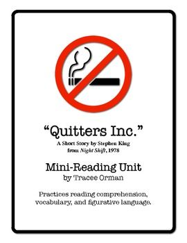 Stephen King's Quitters Inc. (Night Shift) Short Story ...