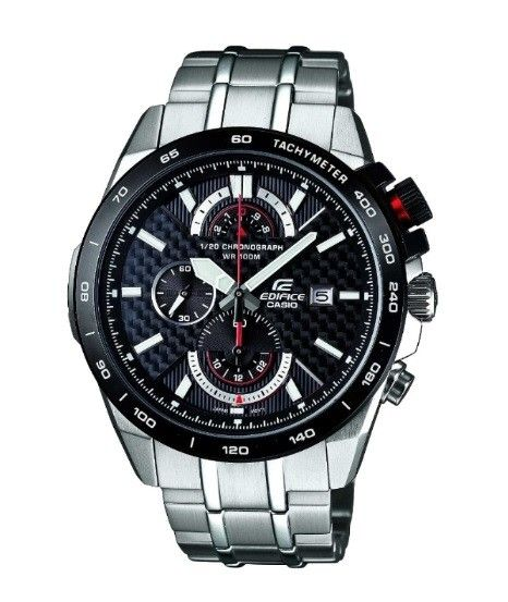 13b4d0eb381 Casio Edifice Carbon Fibre Dial Chronograph Watch EFR-520SP-1AVEF See more  from EDIFICE