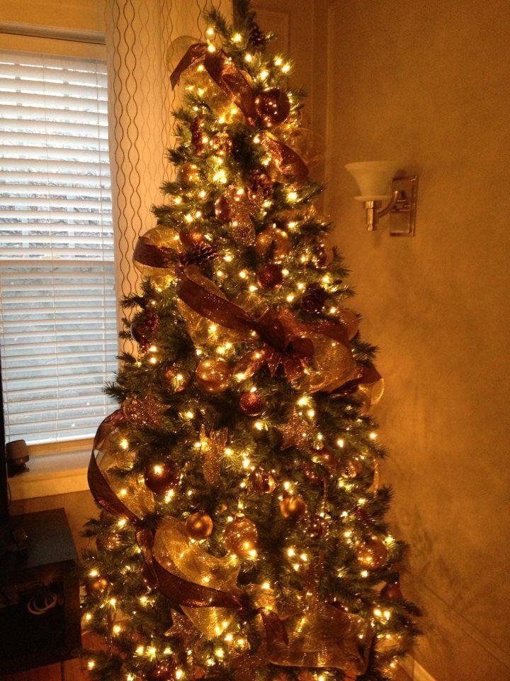 christmas tree, deco mesh