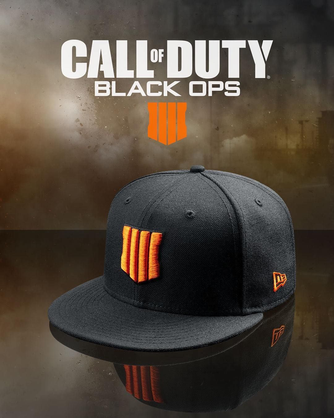 buy popular ea9dc 43aae Limited edition  callofduty Black Ops 4  59FIFTY Fitted caps are now  available at neweracap.com. Quantities are very…