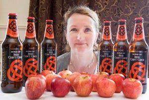 Geraldine at Stonewell, Irish craft cider. Co.Cork
