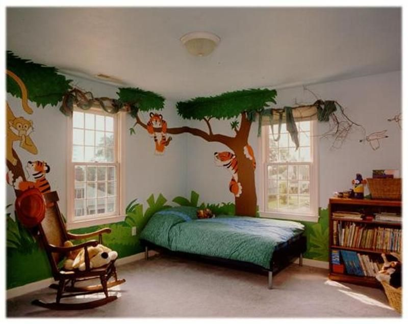 20 Jungle Themed Bedroom for Kids 20