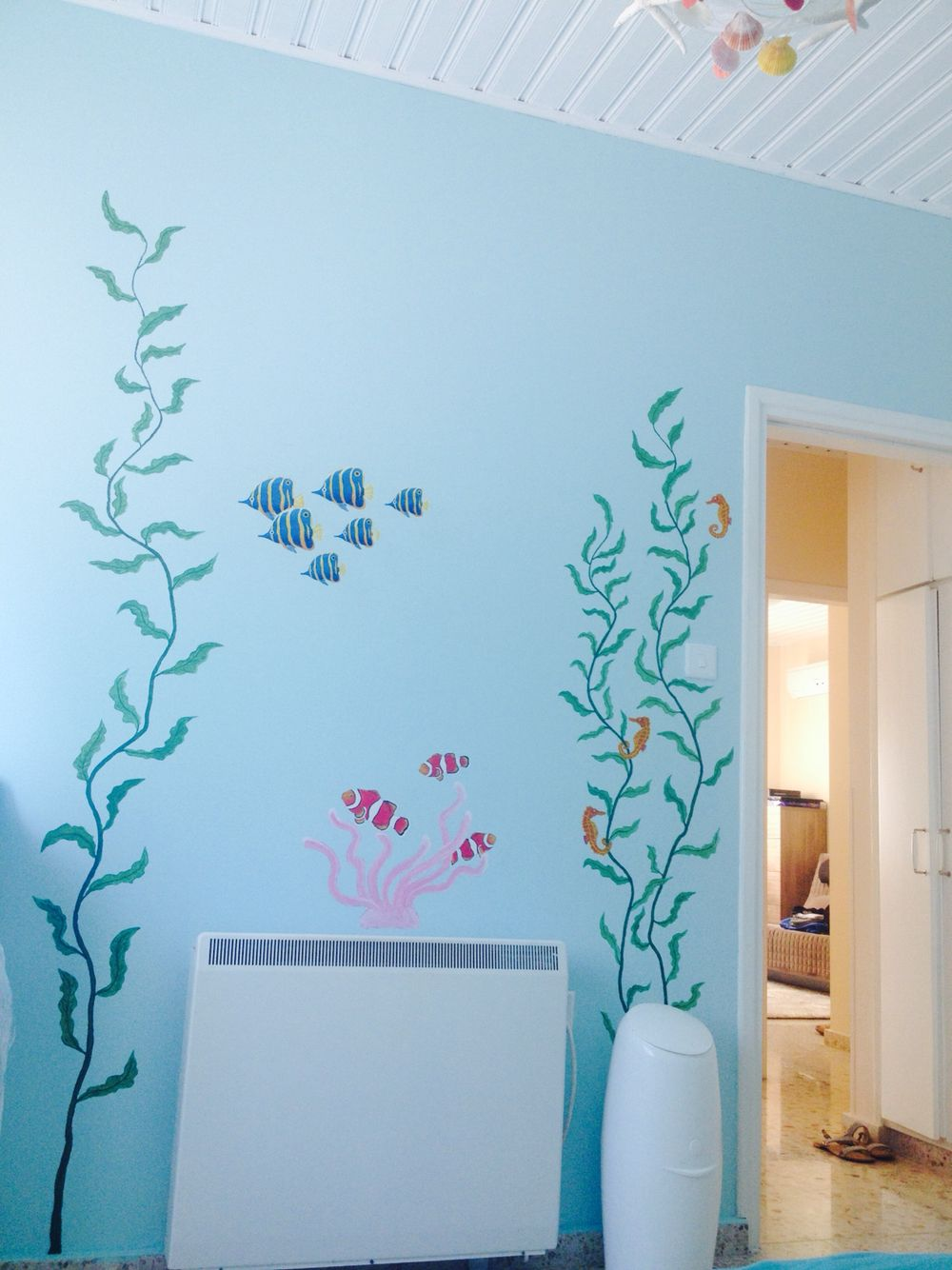 Under The Sea Themed Nursery Room Mommy At Work