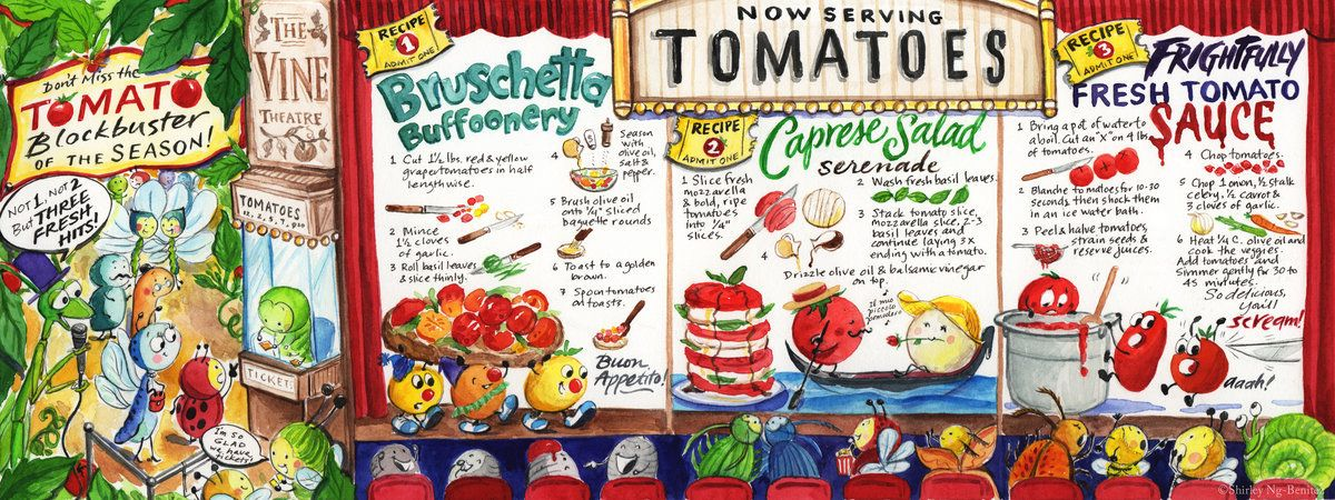 The Blockbuster of the Season: Tomatoes! by Shirley Ng-Benitez on TDAC