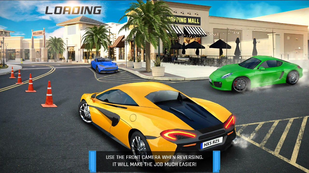 shopping mall car driving car racing games android gameplay rh pinterest com