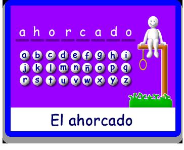 El Ahorcado - Letras - Juegos - Juegos educativos en