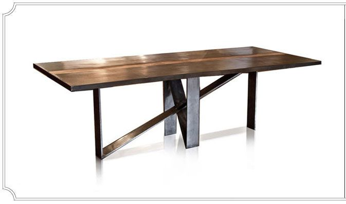 Dining Table: EleoNora By Olga Guanabara Furniture Brooklyn, NY