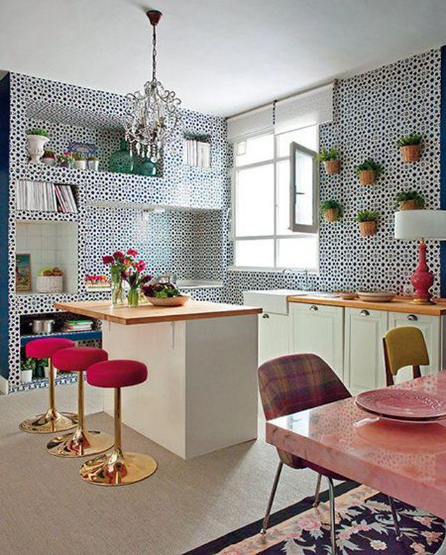 Idées Déco Pour Une Petite Cuisine Ouverte Cuisine Deco And - Idee amenagement kitchenette pour idees de deco de cuisine