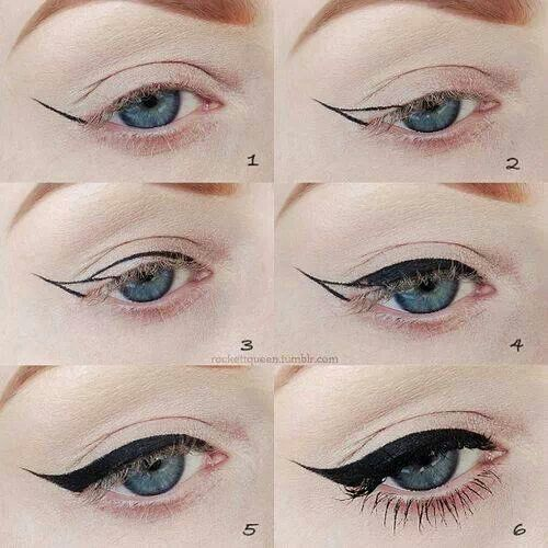 Vingle perfect cat eye eyeliner tutorial beauty tips