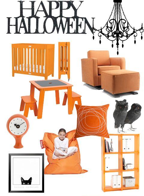 Halloween Inspired Nursery Decor Items Orange Nursery Decor Nursery Decor Items Orange Nursery