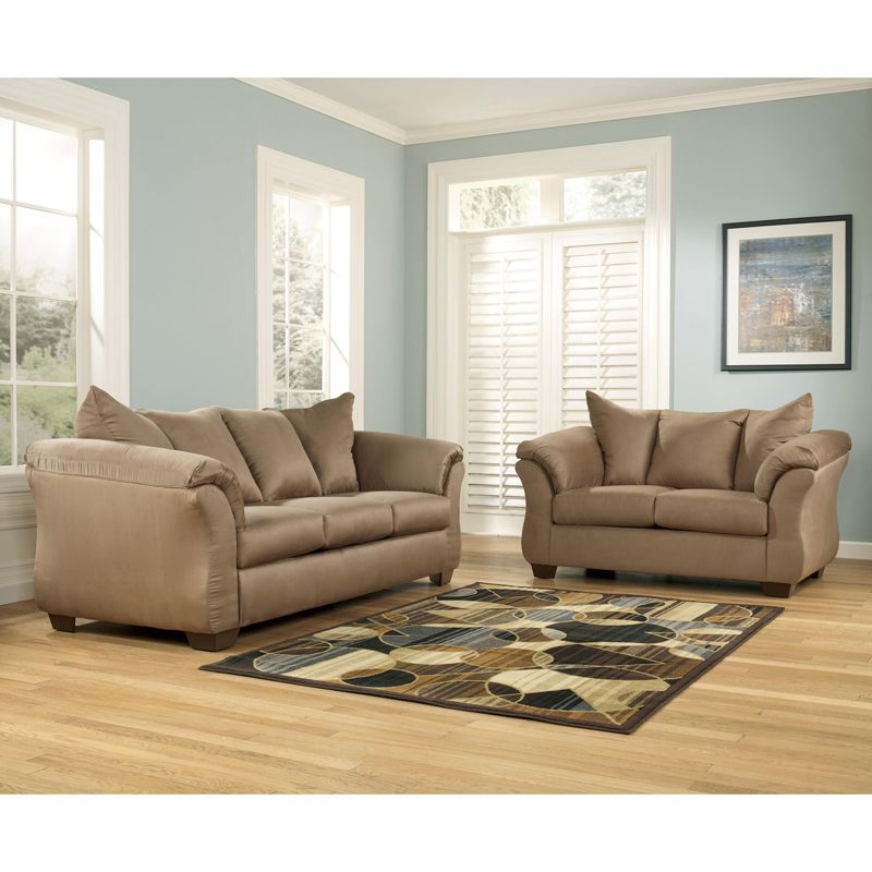 Signature Design Darcy 2 Piece Sofa Set 7500238 35 With Images Sofa And Loveseat Set Living Room Sets Ashley Furniture Living Room