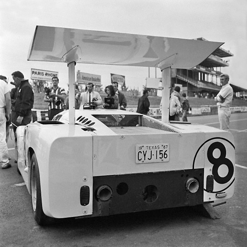 In the Le Mans paddock, the 8 2F is clean and shined