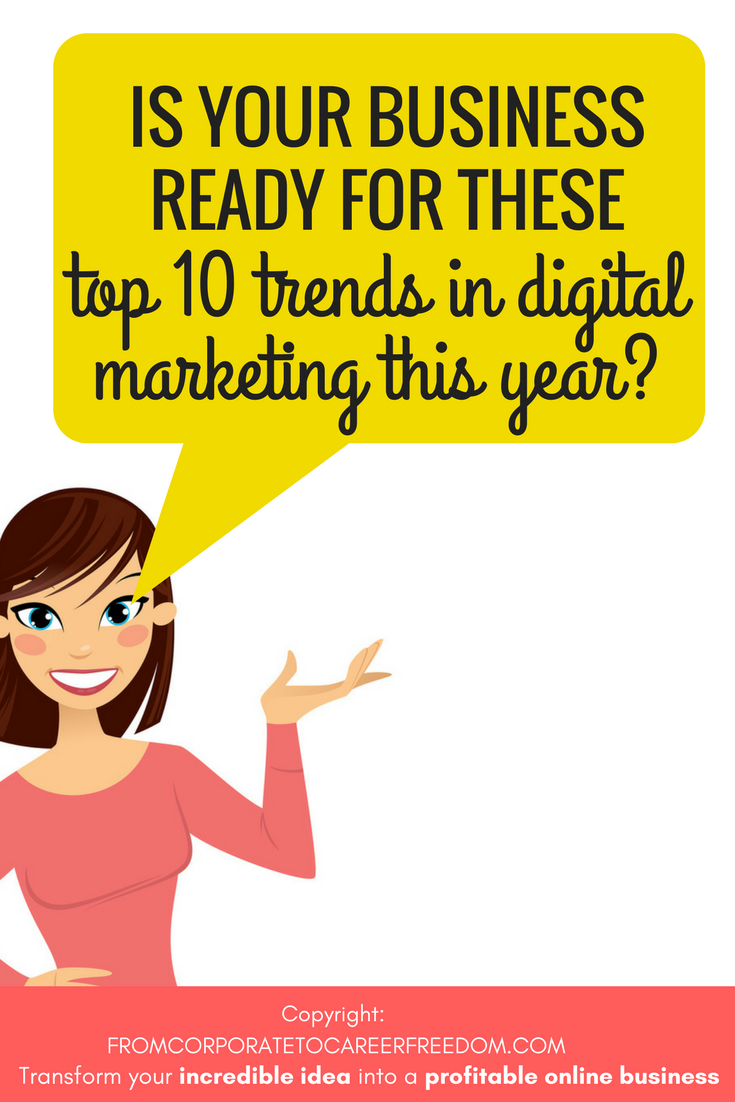 Guest post) The Latest Trends In Digital Marketing | work from home