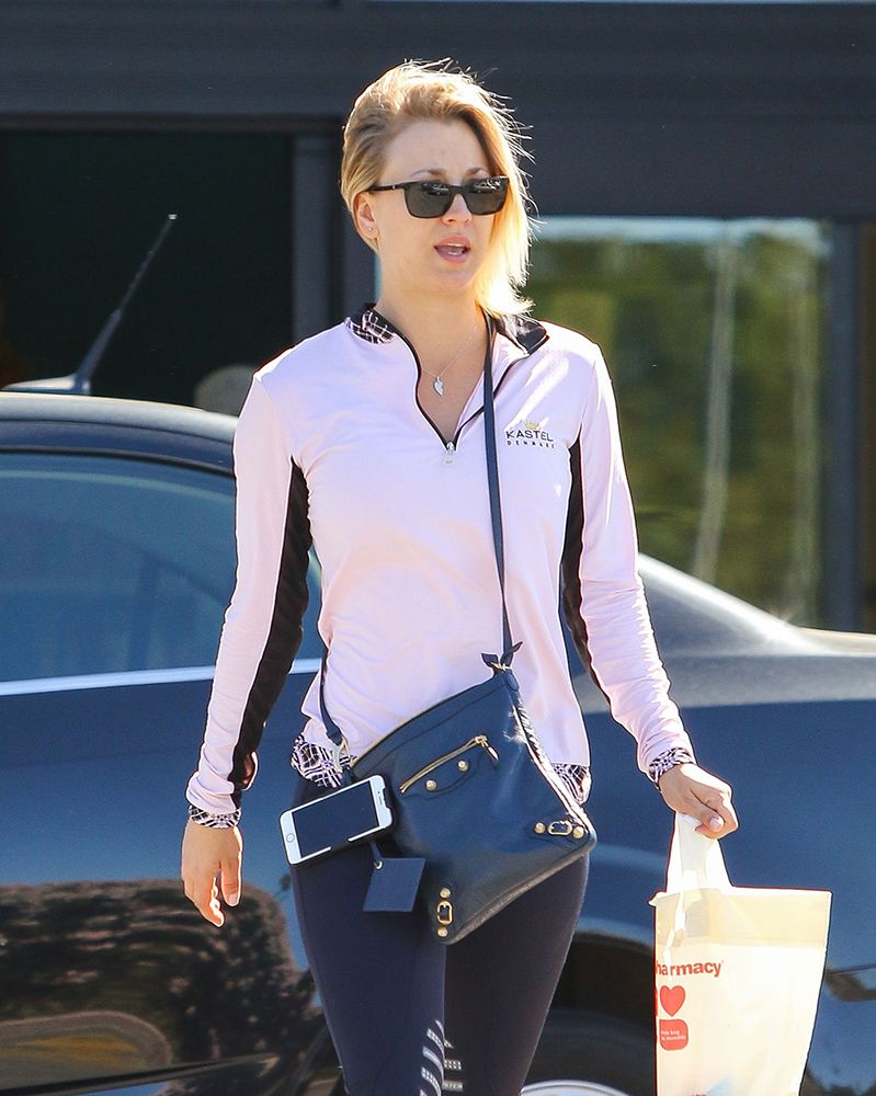 edd23f8fcfc Kaley-Cuoco-Balenciagva-Flap-Messenger-Bag | Bags | New chanel bags ...