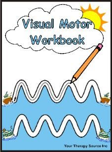 Visual Motor Workbook / Use with an iPad app that allows you to make notes on PDFs like GoodReader and you can use them over and over!