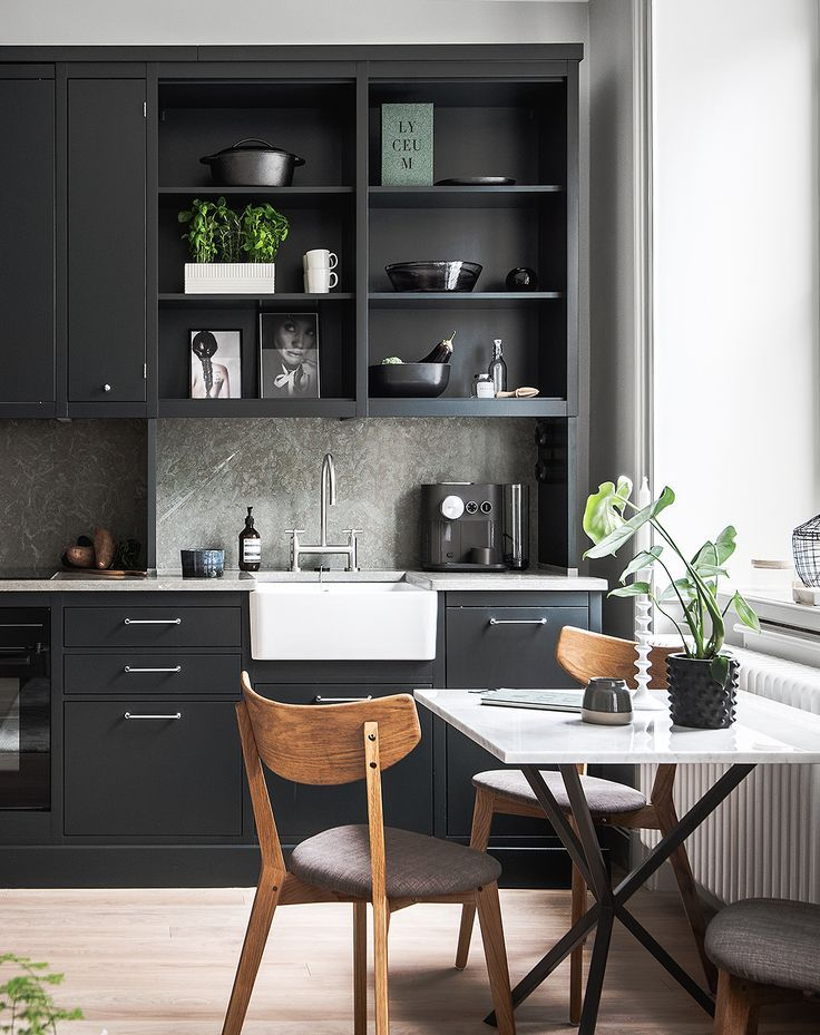 Small living space with a great kitchen