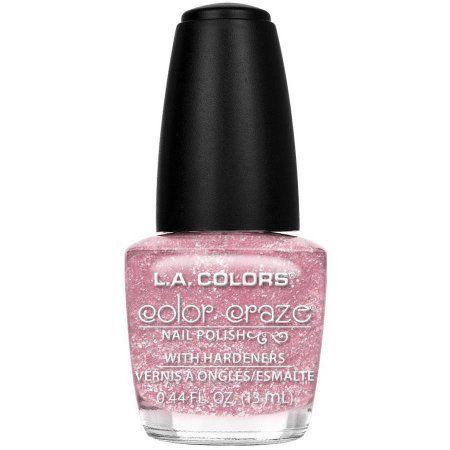 L.A. Colors Color Craze Nail Polish with Hardeners, Blossom, 0.44 fl oz