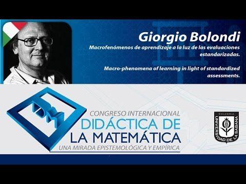 Conferencia Giorgio Bolondi (Italia) Día 2 Congreso Didáctica de la Mate...