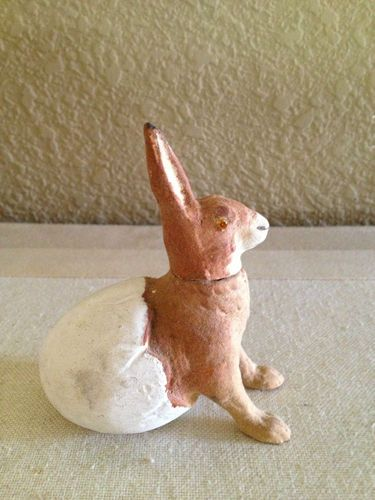 Antique Easter Rabbit Candy Container | eBay