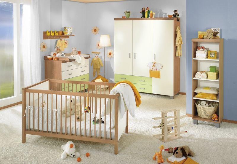 PAIDI Babyzimmer mit etwas mehr Farbe. Gemeinsam mit