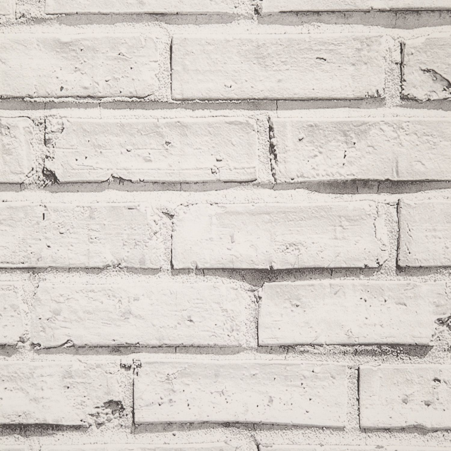 This White Brick Wallpaper Is A Great Way To Inject Some Modern Style Into Your Home