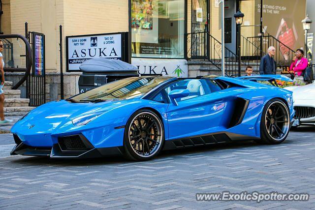 Lamborghini Aventador Spotted In Toronto Ontario Canada Sports