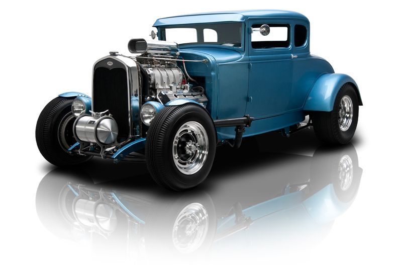 Light Blue 1931 Ford Model A | RK Motors Charlotte | Collector and Classic Cars