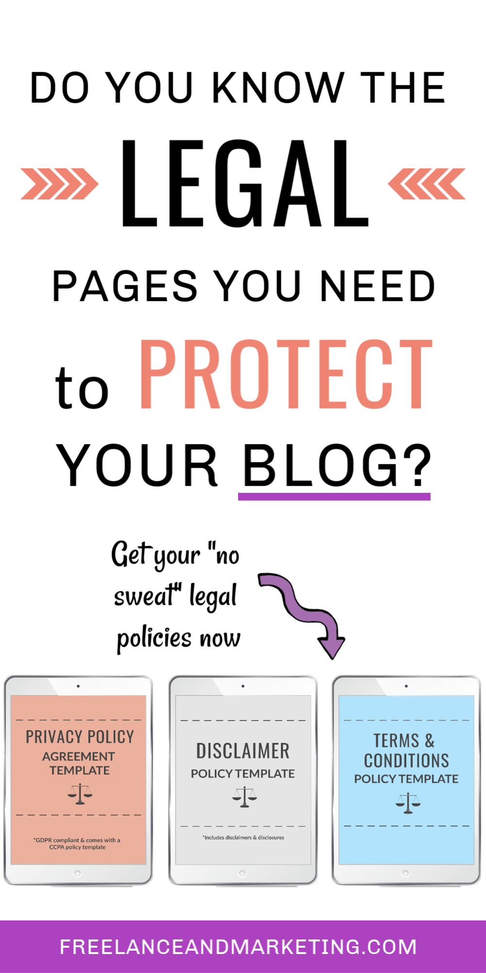 What You Must Know About Legal Pages For Websites In 2020 Blog Privacy Policy Blog Legal Policy Template
