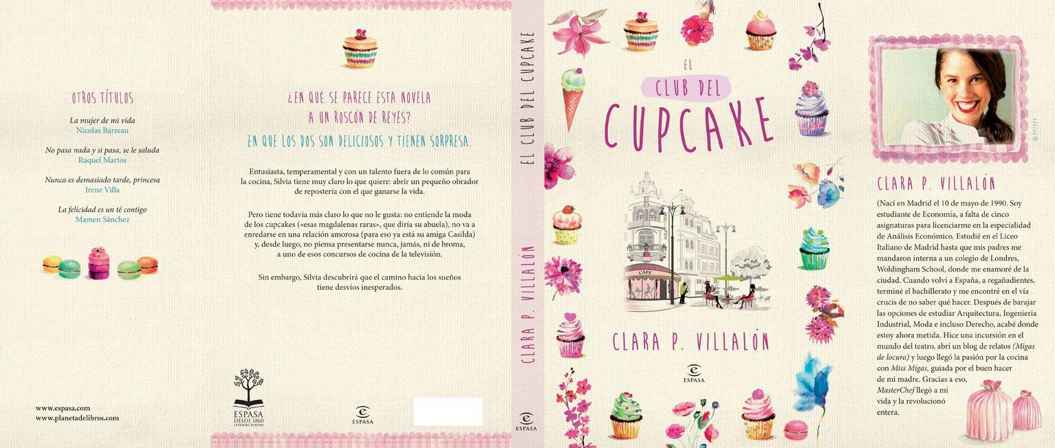 Os dejo el arte final de la novela #elclubdelcupcake  Ya está todo listo para empezar a distribuirla a las librerías. Biennnnn